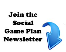 My Social Game Plan Email Newsletter