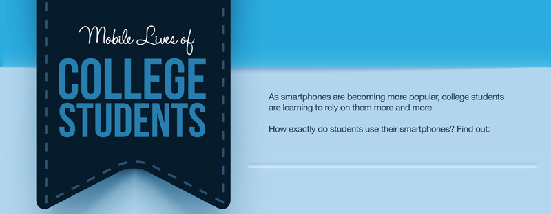 Smartphone Usage of College Students Infographic