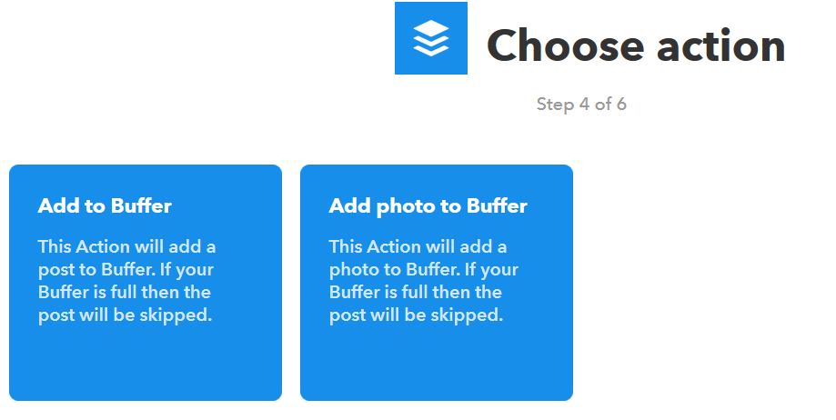 Add to Buffer Automate Twitter
