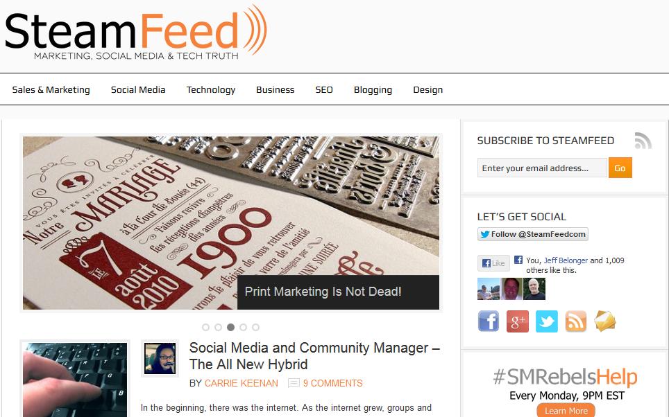 SteamFeed.com