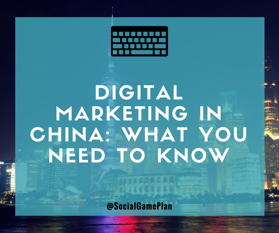 Digital Marketing In China - What You Need To Know