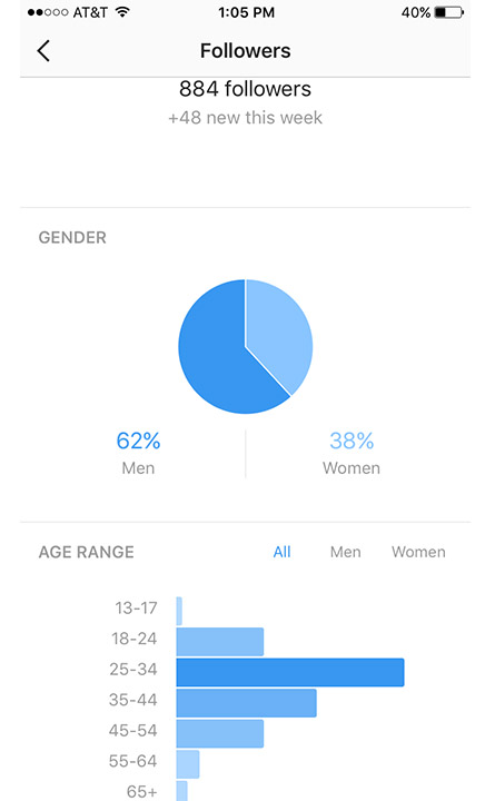 Instagram Demographic Analytics