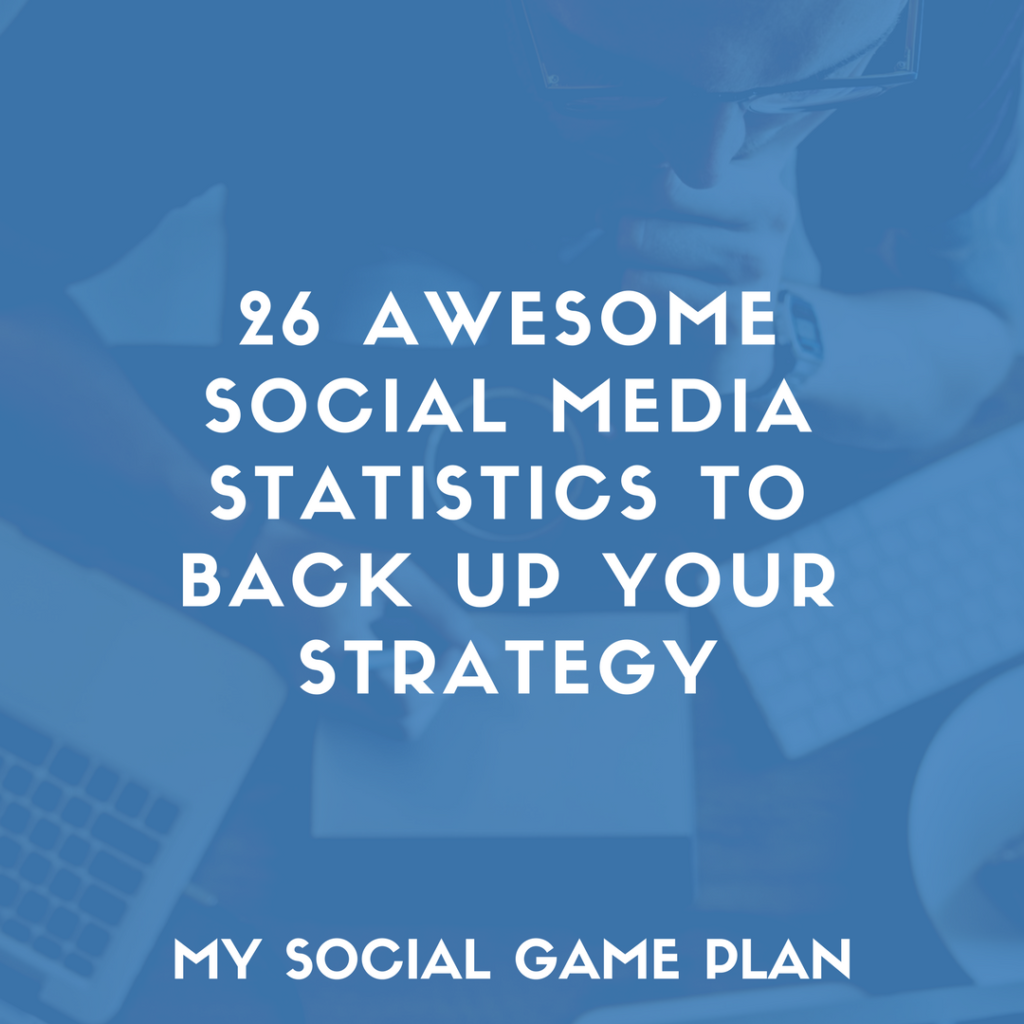 26 Social Media Statistics to Back Up Your Social Media Marketing Strategy