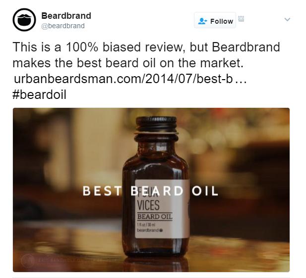 BeardBrand Social Media Marketing