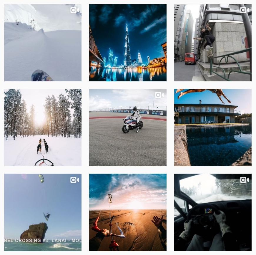 GoPro Instagram Marketing
