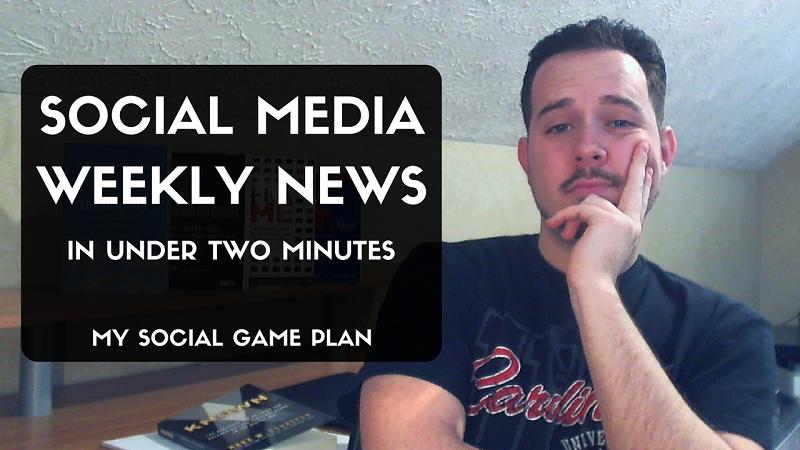 Social Media Weekly News with Jonathan Payne